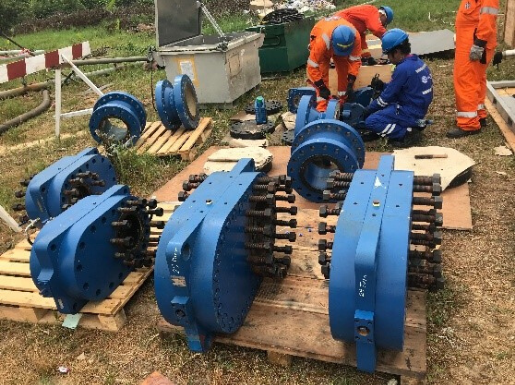 Line Stopping Used to Change Leaking Valve with Zero Interruption to Production in Nigeria