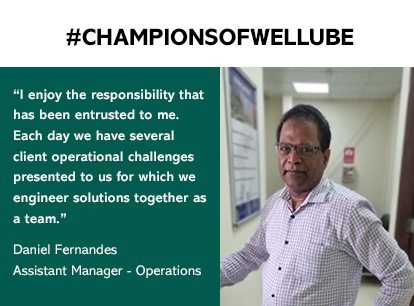 Getting to know Daniel and his journey with Wellube in Qatar