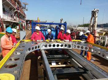 Wellube supplies largest Diamond Wire Saw to leading semi-government engineering company